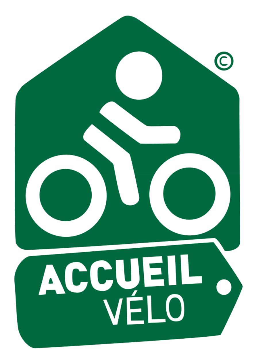 Pictogramme accueil vélo