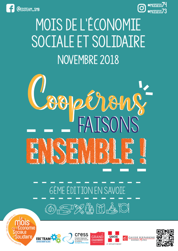 Mois de l'économie sociale et Solidaire 2018