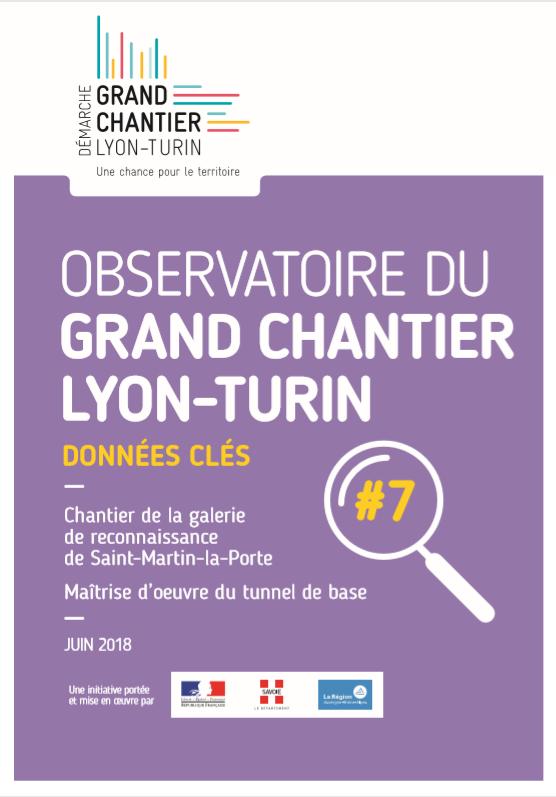 Observatoire du Grand Chantier Lyon-Turin : Données clés #7