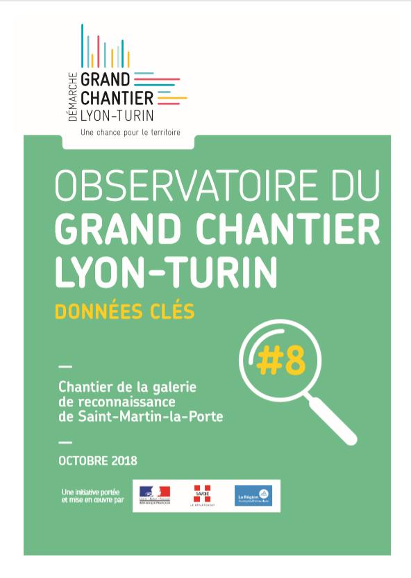 Observatoire du grand chantier Lyon-Turin : Données clés #8