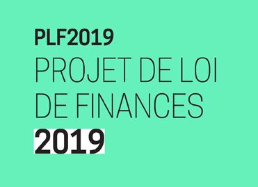 PFL2019 - Projet de loi de finances 2019