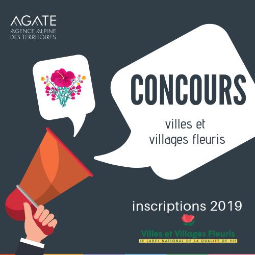Agate partenaire du département de la savoie pour le concours des villes et village fleuris