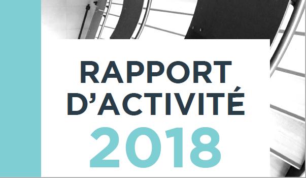 rapport d'activité 2018 d'Agate