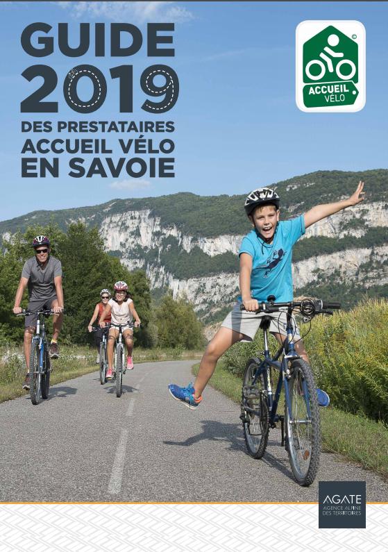 Guide 2019 des prestataires accueil vélo en Savoie