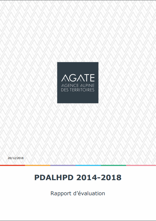 Le rapport d'évaluation 2014-2018 du PDALHPD