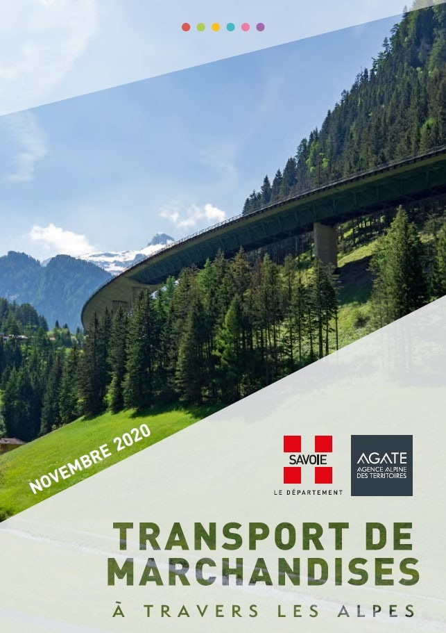 Transport de marchandises à travers les Alpes – Novembre 2020