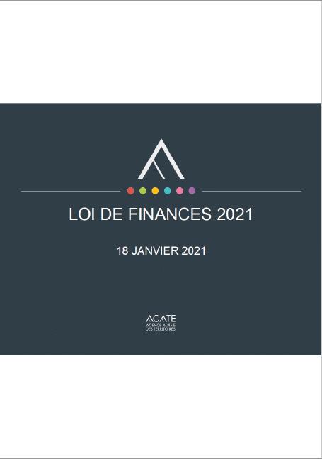 Présentation de la Loi de Finances 2021