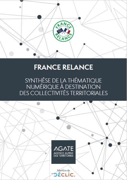 France Relance : synthèse de la thématique numérique à destination des collectivités territoriales